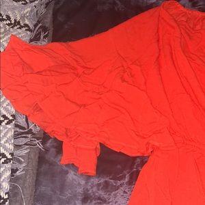 0e2f9f82a6 Fashion Nova Pants - Camellia Off the Shoulder Romper